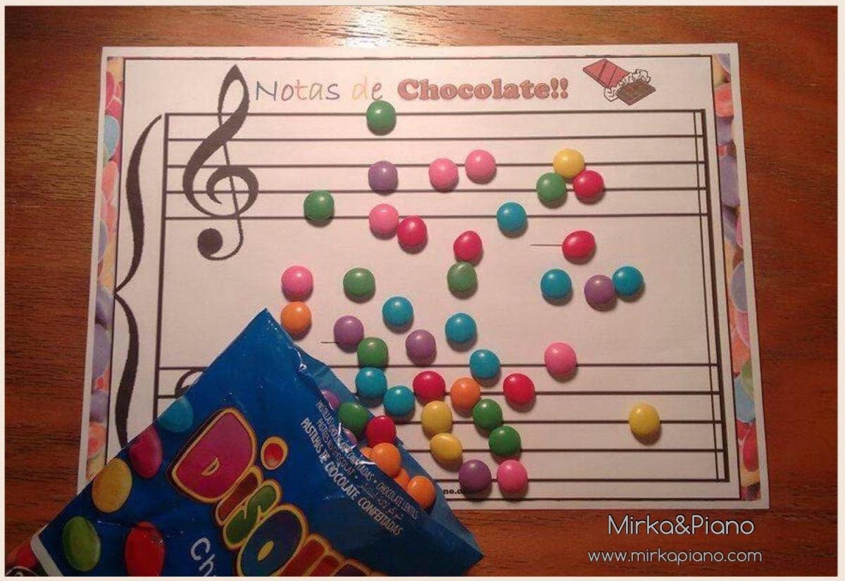 Notas de Chocolate!!