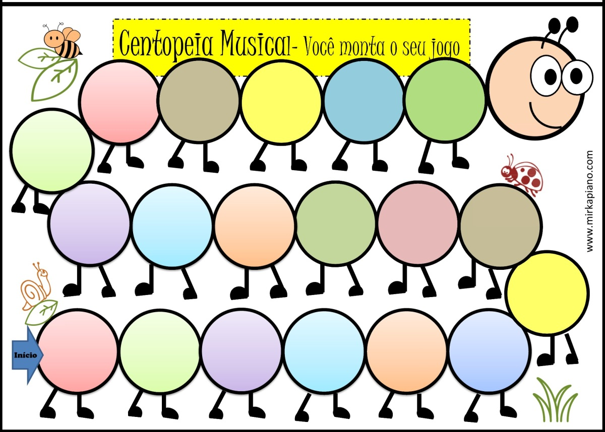 Jogo da Centopeia Musical!